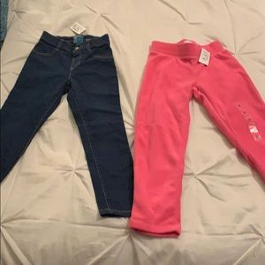 Children's place jeans and joggers
